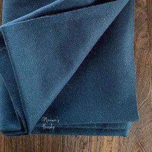 (cp-900) 150x48 ナチュラル ブルーグリーン ウール100%  良品質 はぎれ 生地