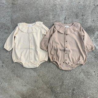 ocean&ground  フリルカラーボディシャツ