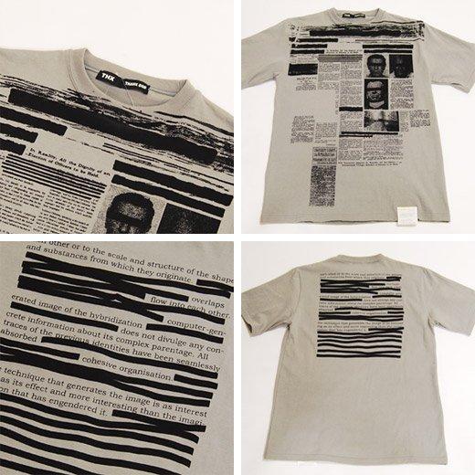 【THANX GOD】クリミナルプリント半袖Tシャツ詳細3