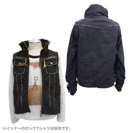 【TRIXY】 2WAYスタンドカラージャケット詳細2