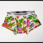 【GUT'S DYNAMITE CABARETS】ホワイトベース花柄・ボクサーパンツ
