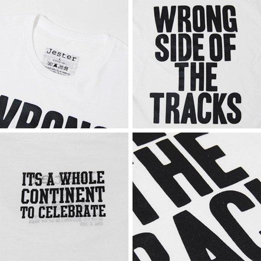 【インパクトで勝負する簡潔で洗練されたレタードTシャツ。】メッセージプリント メンズ長袖Tシャツ詳細3