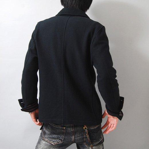 【キレイめでカッコイイを体現した品格あるジャケット】ボーダーアクセント・スリムデッキジャケット詳細2