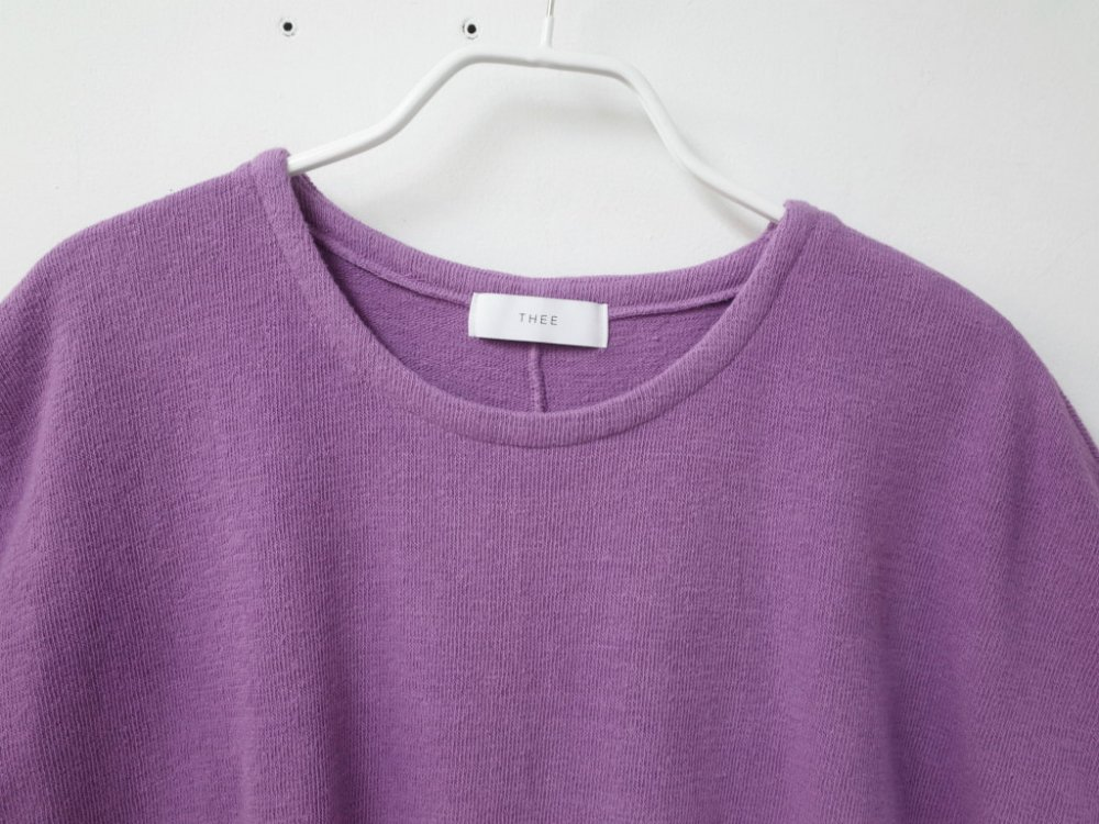 <img class='new_mark_img1' src='https://img.shop-pro.jp/img/new/icons20.gif' style='border:none;display:inline;margin:0px;padding:0px;width:auto;' />THEE poncho knit t-shirts KT-CS-03 purple