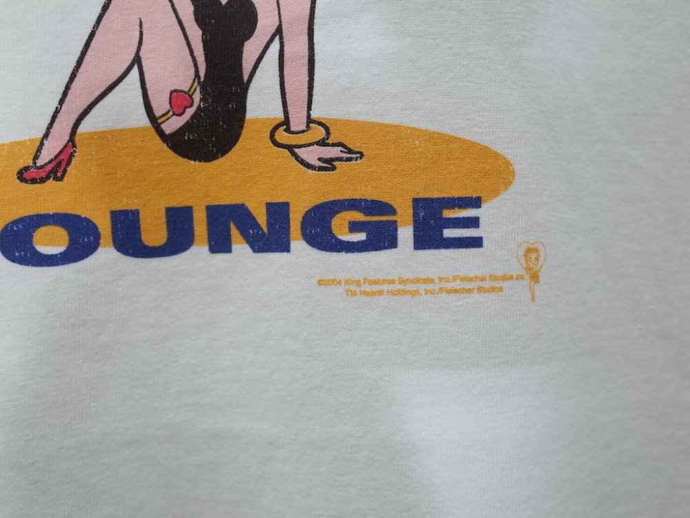 <img class='new_mark_img1' src='https://img.shop-pro.jp/img/new/icons15.gif' style='border:none;display:inline;margin:0px;padding:0px;width:auto;' />VINTAGE 04's Betty Boop Tシャツ DEAD STOCK
