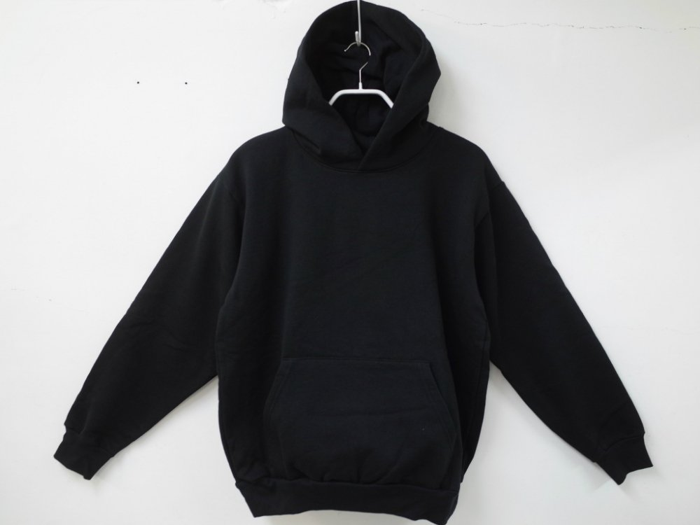 LOS ANGELES APPAREL  14オンス  スウェットパーカ USA製 black