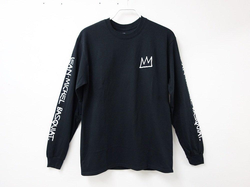 <img class='new_mark_img1' src='https://img.shop-pro.jp/img/new/icons15.gif' style='border:none;display:inline;margin:0px;padding:0px;width:auto;' />海外限定 オフィシャル Basquiat L/S Tシャツ