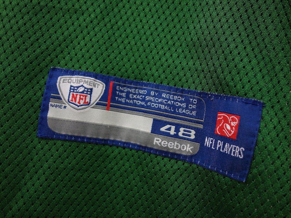 REEBOK NFL New York Jets  フットボールジャージー USED