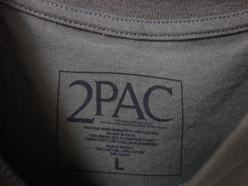2Pac  オフィシャル Tシャツ