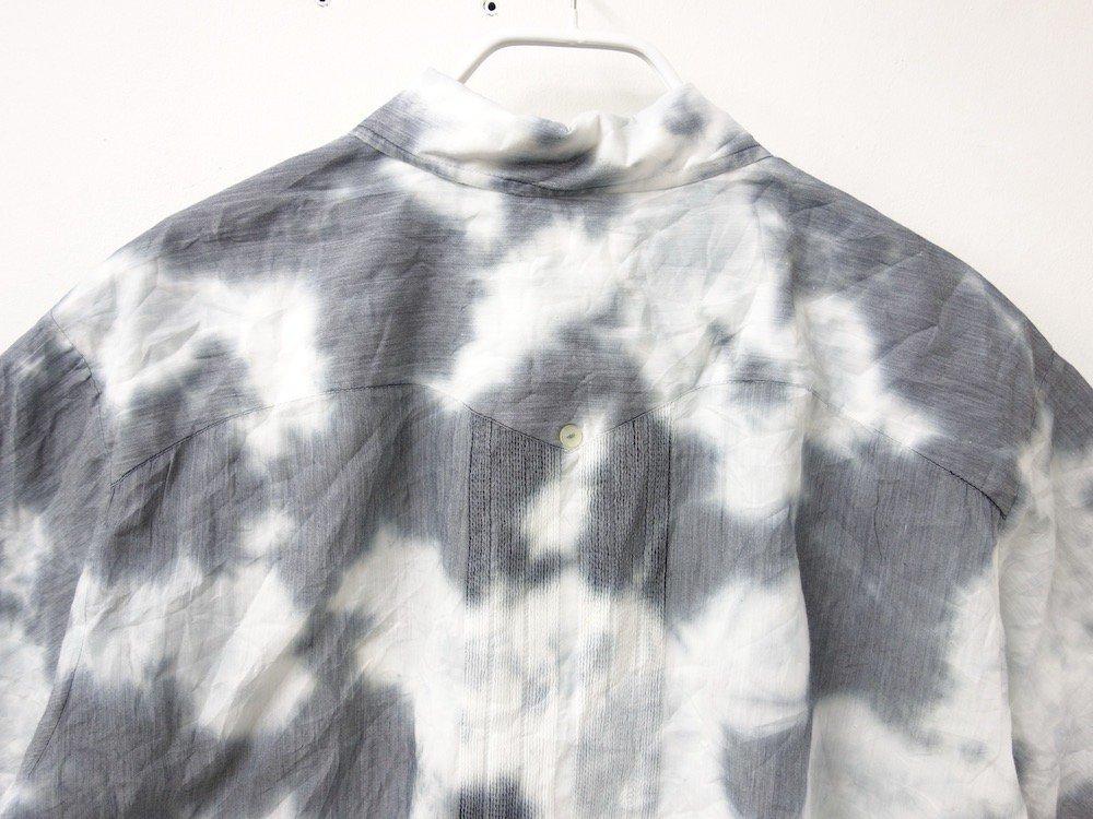 CUBA SHIRT  タイダイ染め オープンカラー 刺繍 シャツ #5
