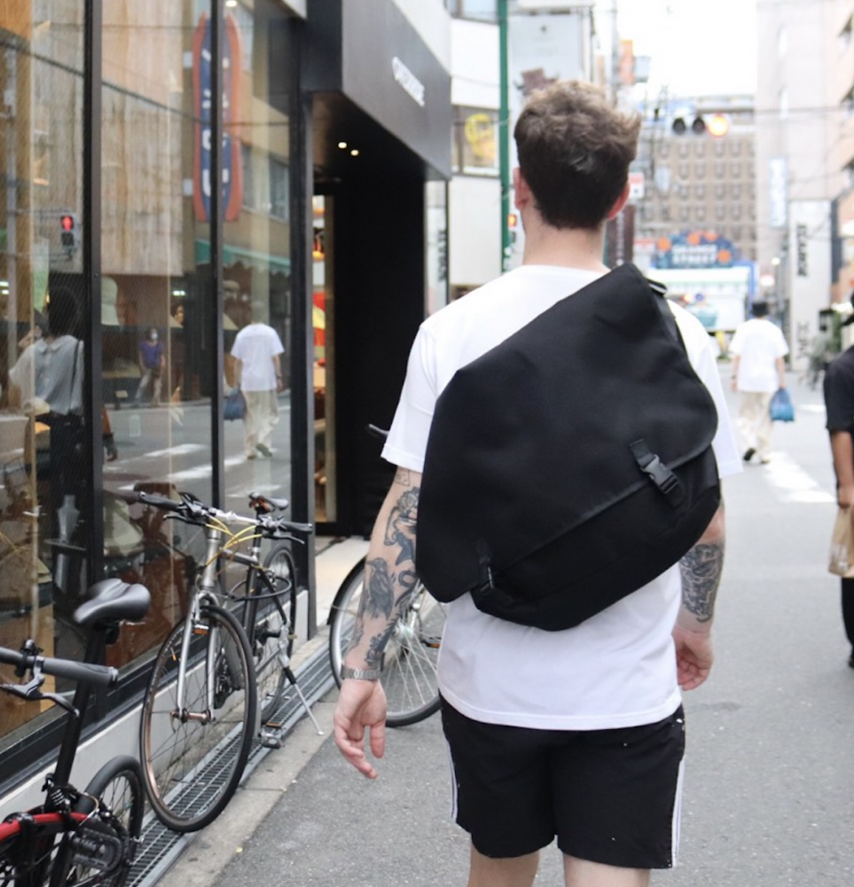 <img class='new_mark_img1' src='https://img.shop-pro.jp/img/new/icons15.gif' style='border:none;display:inline;margin:0px;padding:0px;width:auto;' />PACKING Messenger BAG black