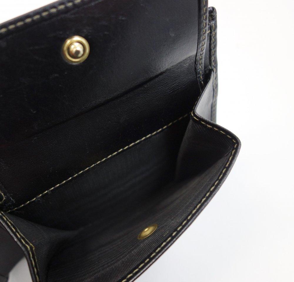 FENDI フェンディ ペカン柄 二つ折り財布 イタリア製 USED