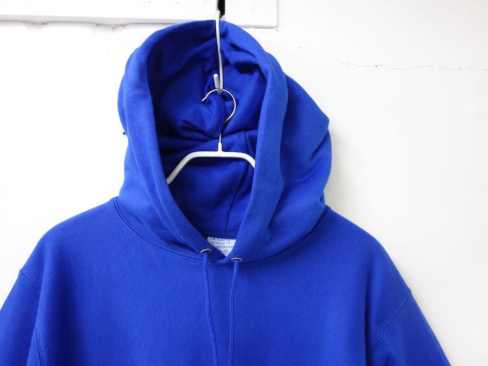 海外限定 Champion 12oz Premium Reverse Weave リバースウィーブパーカ ATHLETIC ROYAL