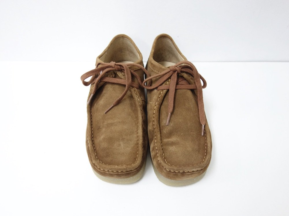 UO スエード モックブーツ brown