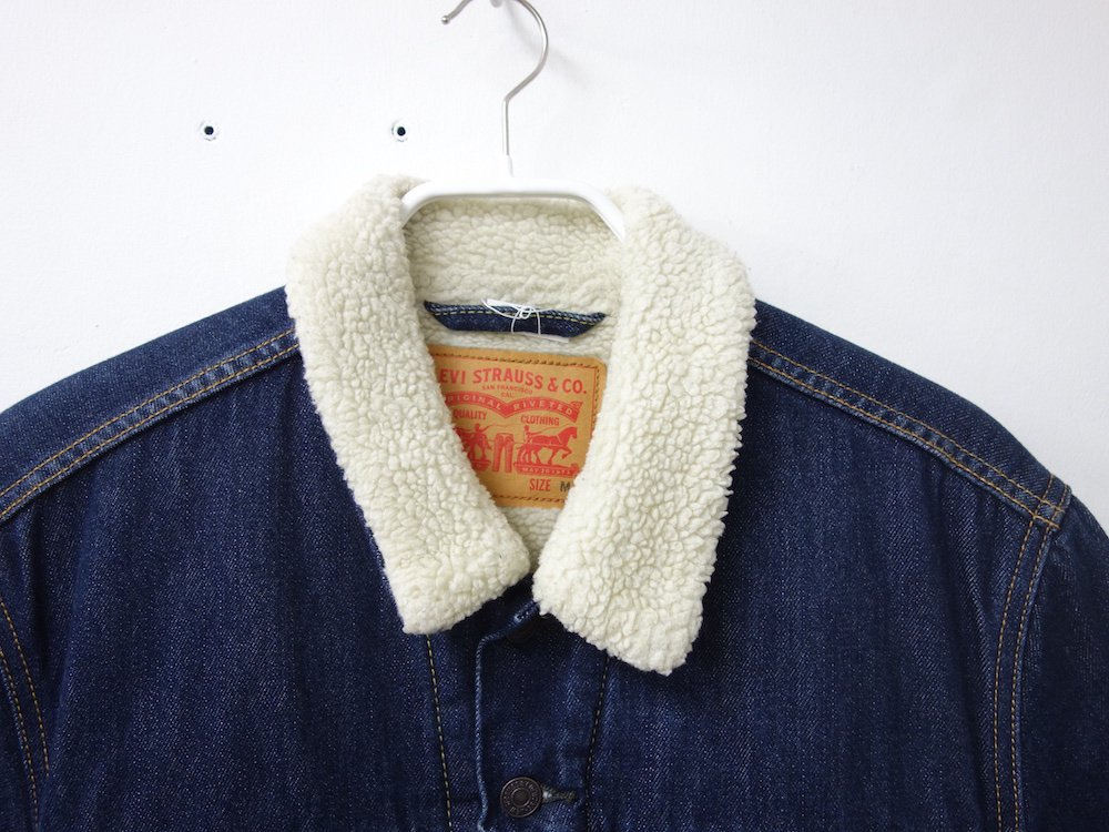 LEVI'S デニムボアジャケット USED