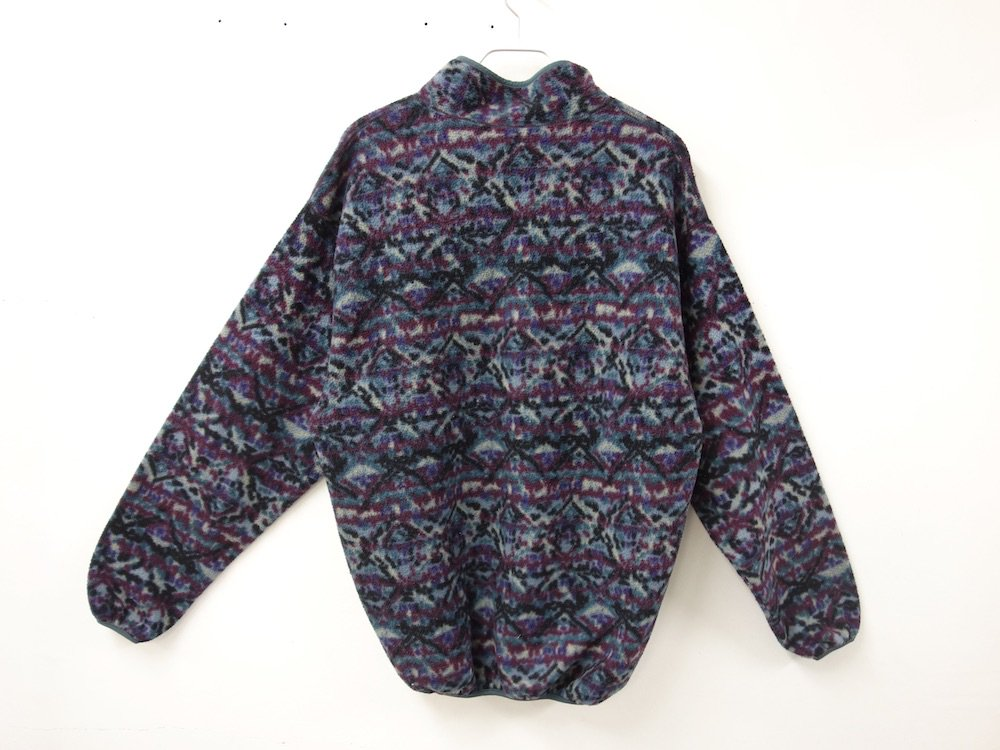 Vintage 90's Columbia  総柄フリースジャケット MAE IN USA USED