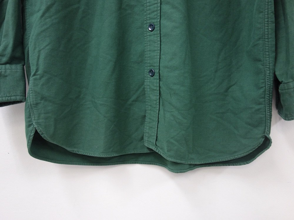 VINTAGE 70'S L.L.Bean フランネル ワーク シャツ MADE IN USA USED