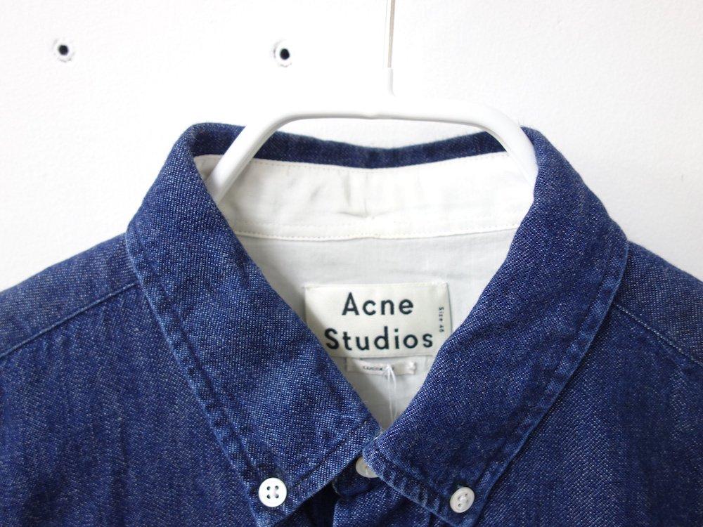 Acne Studios  デニムシャツ USED