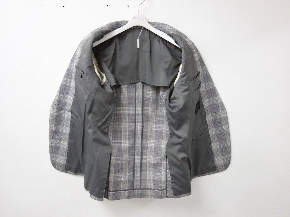OLD LANVIN チェック柄 テーラードジャケット  USED