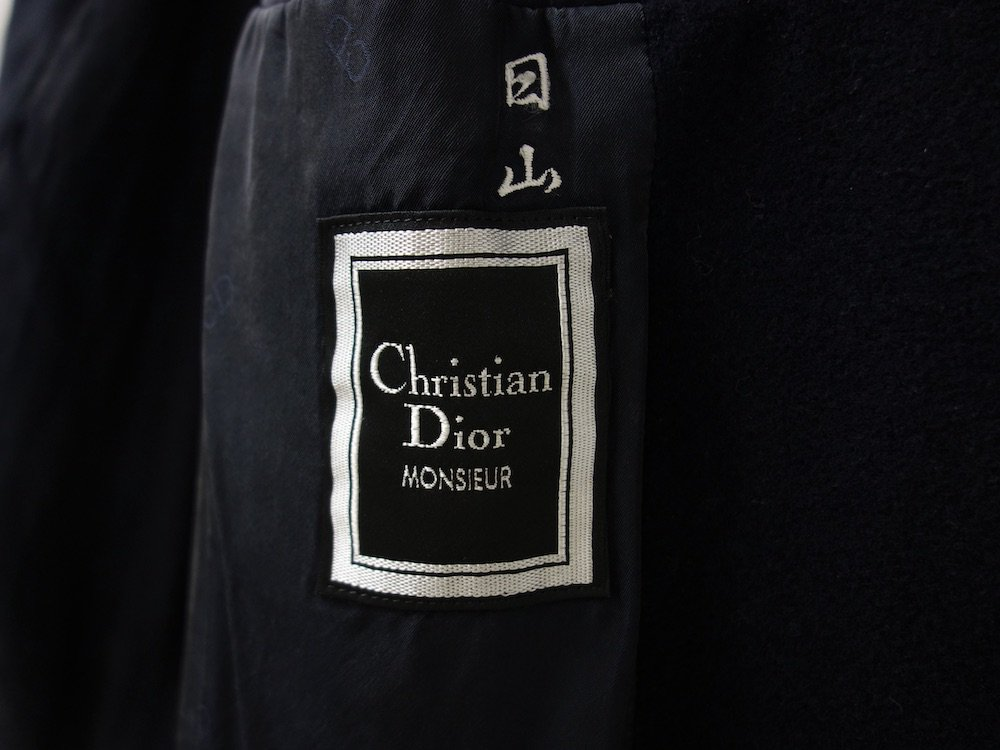 <img class='new_mark_img1' src='https://img.shop-pro.jp/img/new/icons15.gif' style='border:none;display:inline;margin:0px;padding:0px;width:auto;' />OLD Christian Dior クリスチャンディオール ウールコート USED