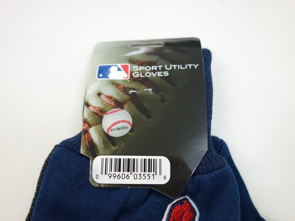 MLB オフィシャルライセンス Cleveland Indians グローブ 手袋