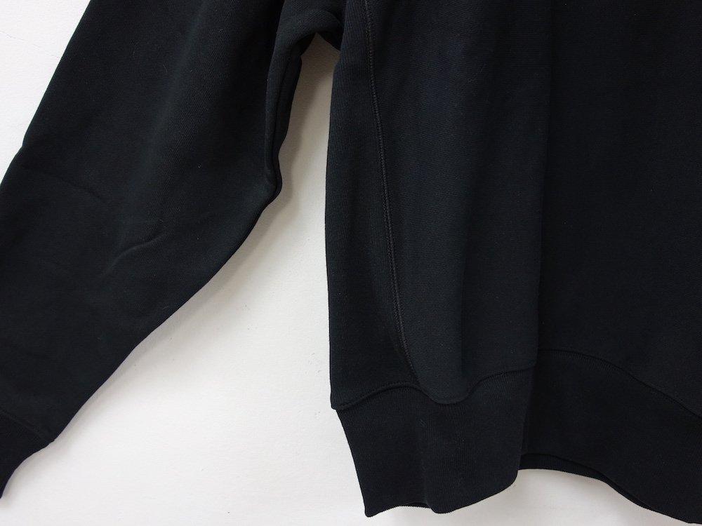 海外限定 別注 Champion 12oz Premium Reverse Weave リバースウィーブモックネックスウェット black