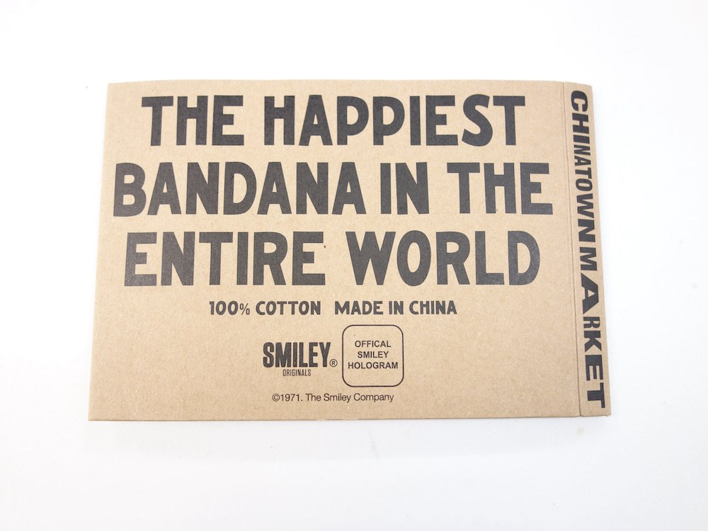 Chinatown Market X Smiley Bandana バンダナ