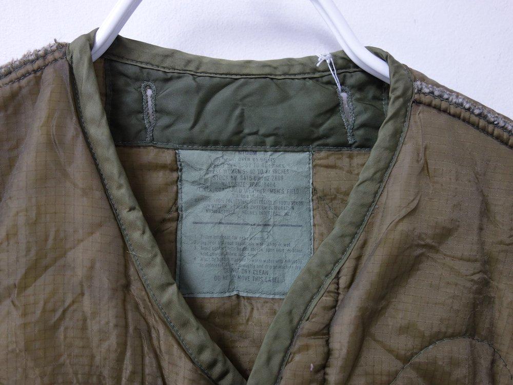 Vintage U.S.ARMY M-65 LINER キルティングジャケット #3 USED