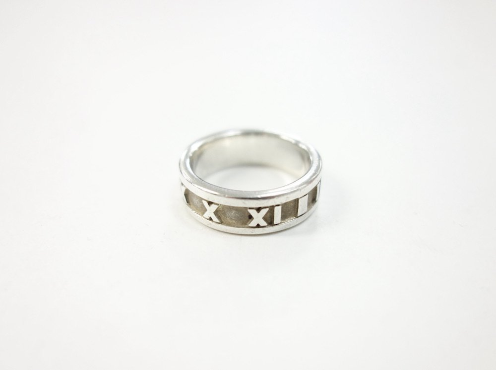Tiffany & Co  ティファニー  アトラス リング silver925  11号 #2 USED