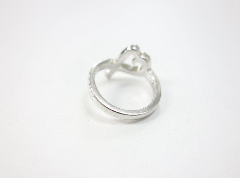 Tiffany & Co  ティファニー オープンハート リング silver925  10号 USED