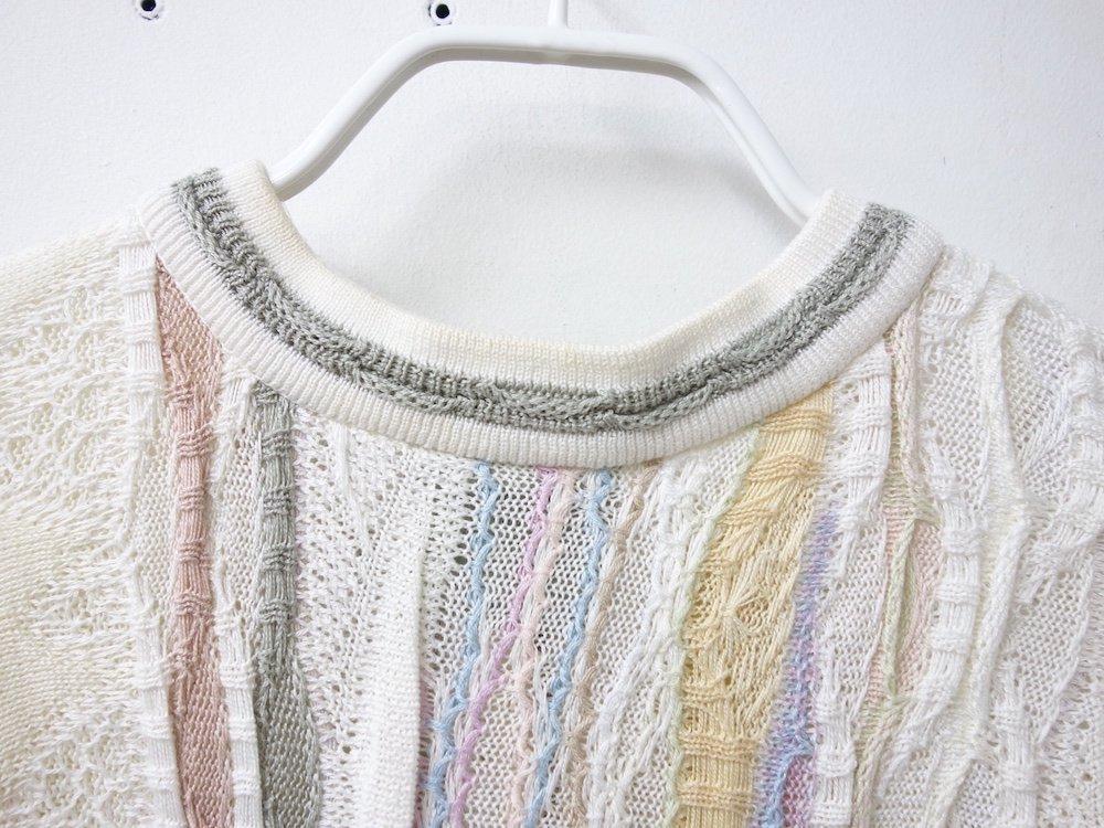COOGI コットン ハーフジップセーター オーストラリア製 USED