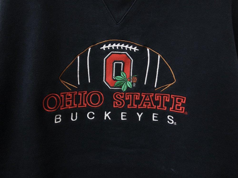 OHIO カレッジフットボール スウェット USED