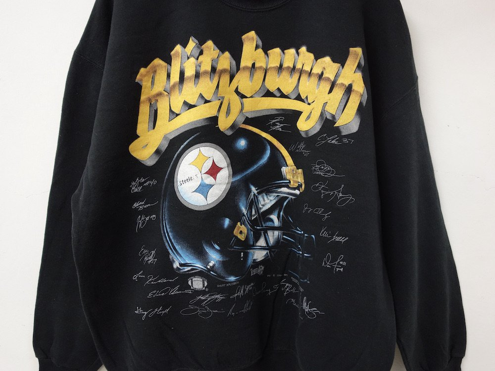 NFL Pittsburgh Steelers スウェット MADE IN USA USED