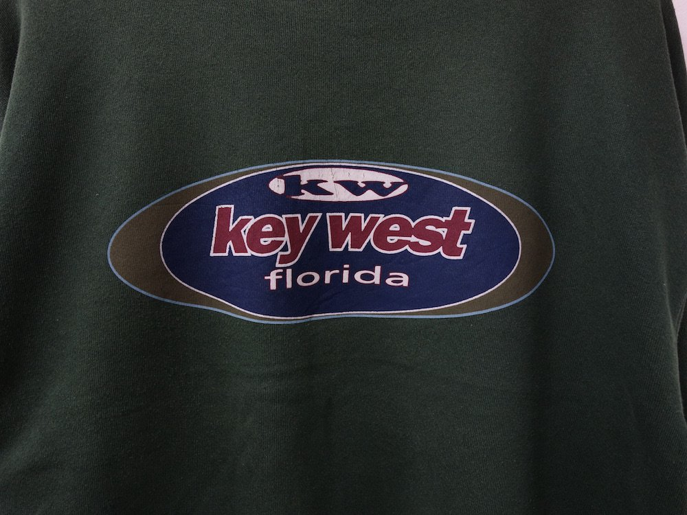 KEY WEST スウェット MADE IN USA USED