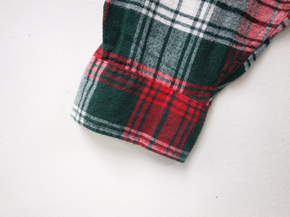 VINTAGE 80's L.L.Bean フランネル ワークシャツ MADE IN USA USED