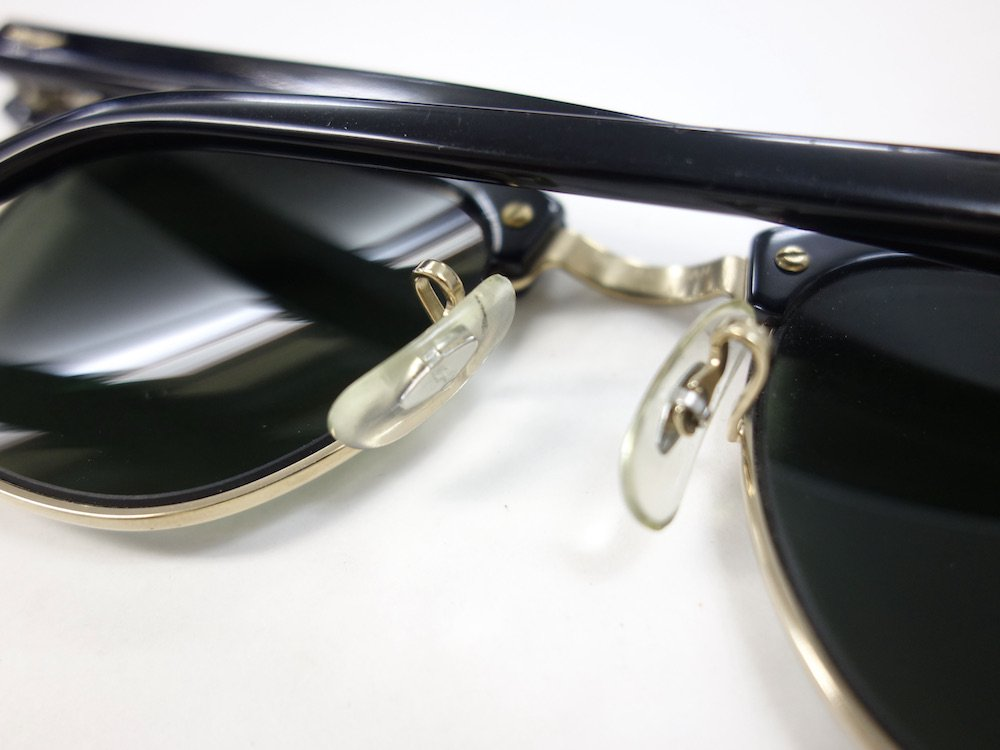 VINTAGE RAY-BAN BAUSCH&LOMB社製 CLUBMASTER サングラス MADE IN USA #5 USED