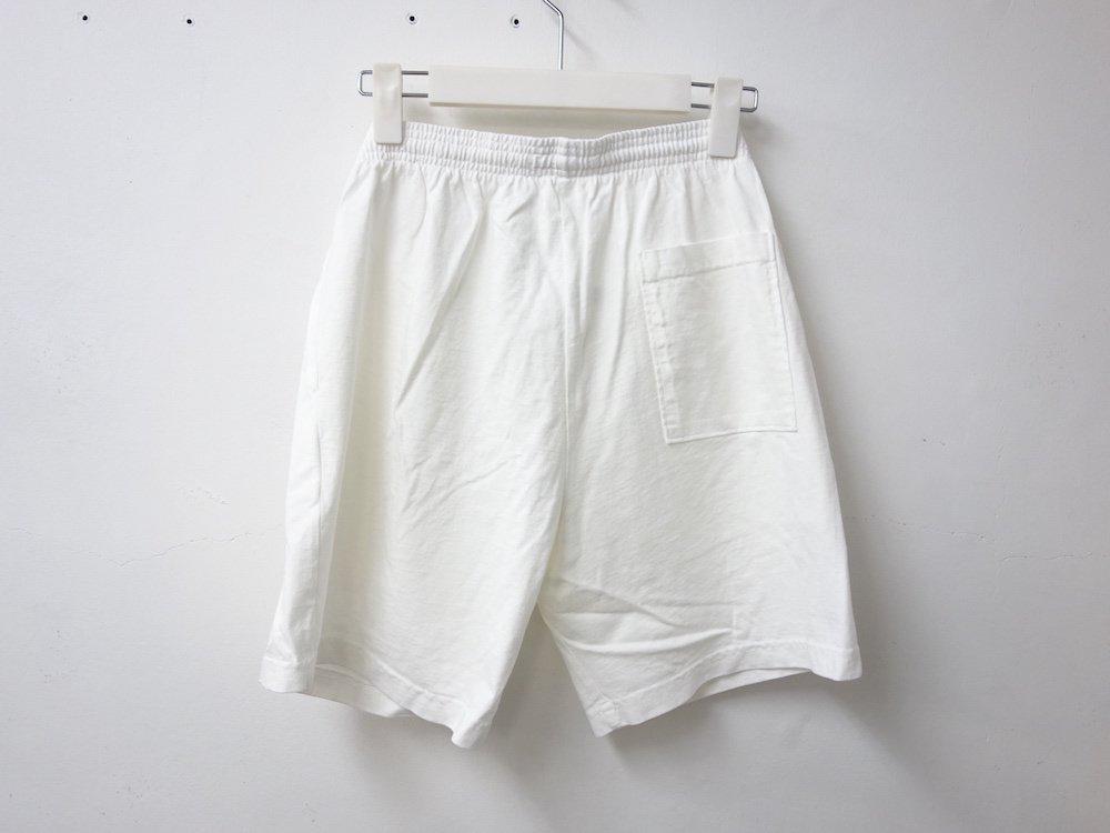 LOS ANGELES APPAREL  ガーメントダイ 8.5オンス  ショーツ USA製 white