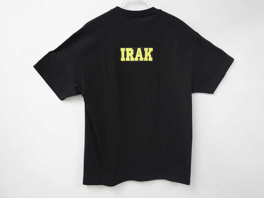 <img class='new_mark_img1' src='https://img.shop-pro.jp/img/new/icons15.gif' style='border:none;display:inline;margin:0px;padding:0px;width:auto;' />IRAK  Pearl Tシャツ black