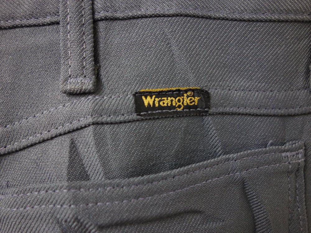 <img class='new_mark_img1' src='https://img.shop-pro.jp/img/new/icons15.gif' style='border:none;display:inline;margin:0px;padding:0px;width:auto;' />Vintage WRANGLER ラングラー ブーツカットパンツ W36 USA製 USED