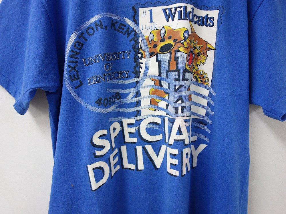 後染め KENTUCKY WILDCATS Tシャツ USED