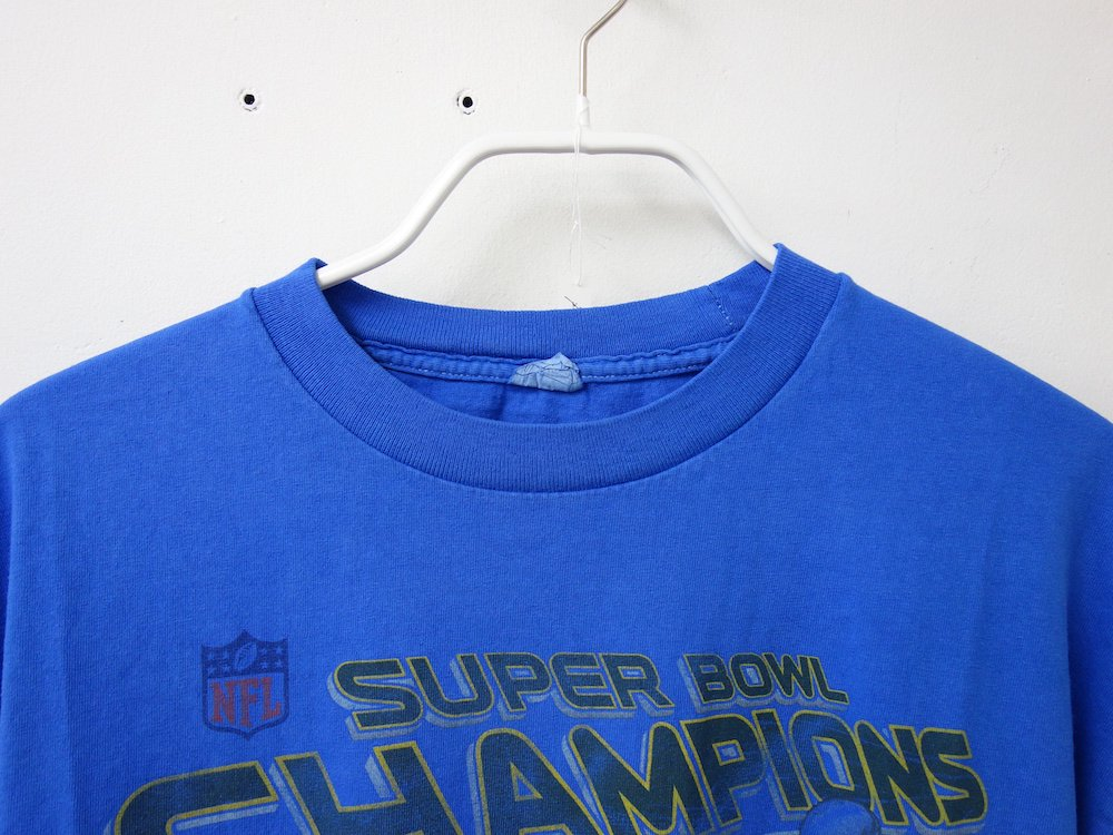 <img class='new_mark_img1' src='https://img.shop-pro.jp/img/new/icons15.gif' style='border:none;display:inline;margin:0px;padding:0px;width:auto;' />後染め NFL Super Bowl Tシャツ USED