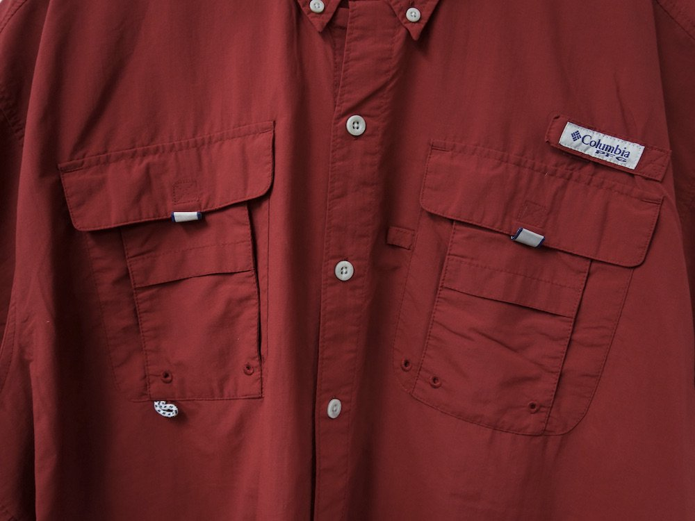 Columbia PFG S/S フィッシングシャツ #6 USED