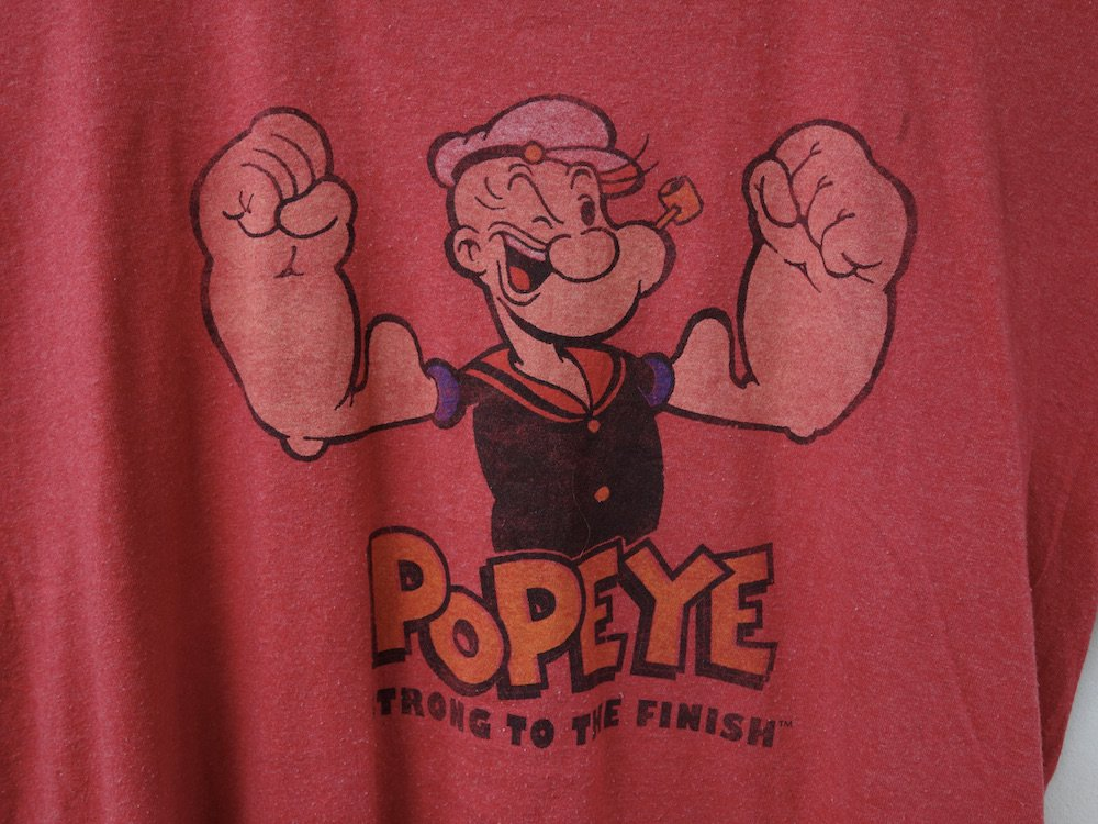 <img class='new_mark_img1' src='https://img.shop-pro.jp/img/new/icons15.gif' style='border:none;display:inline;margin:0px;padding:0px;width:auto;' />POPEYE オフィシャルライセンス Tシャツ USED