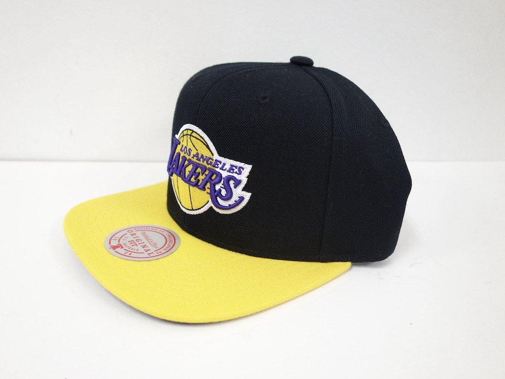 Mitchell & Ness Lakers Snapback キャップ