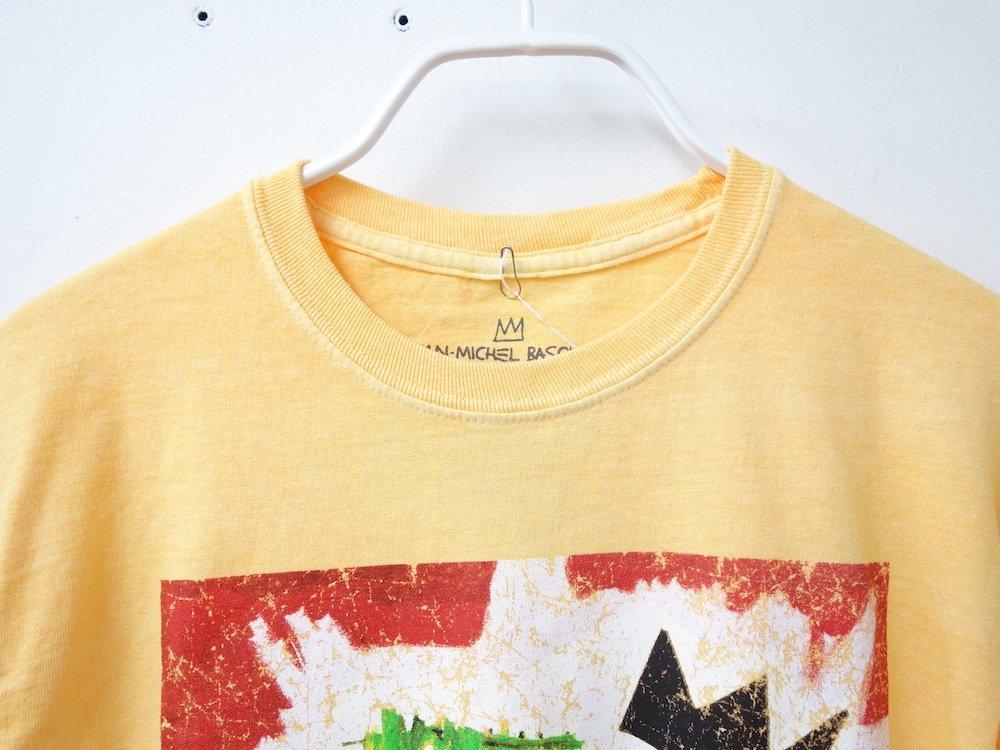 海外限定 オフィシャル Basquiat Trumpet L/S Tシャツ