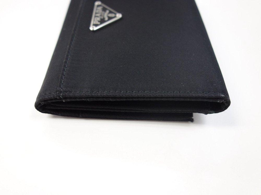 PRADA プラダ  ナイロン 三つ折り財布 イタリア製 USED