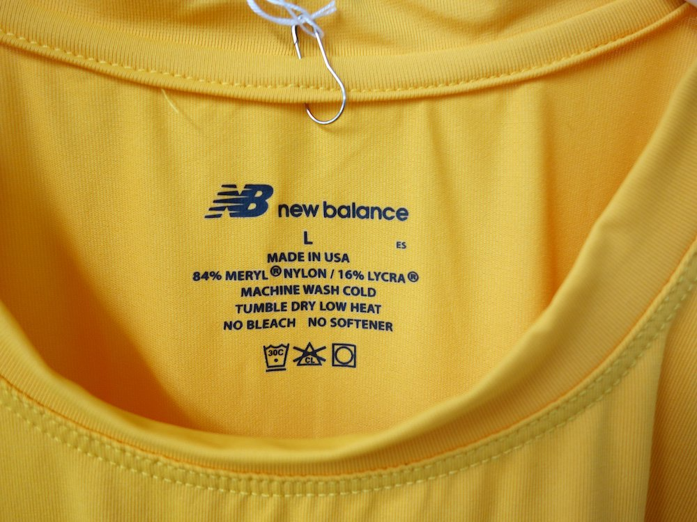 <img class='new_mark_img1' src='https://img.shop-pro.jp/img/new/icons15.gif' style='border:none;display:inline;margin:0px;padding:0px;width:auto;' />U.S.NAVY NEW BALANCE トレーニング Tシャツ USA製 DEAD STOCK