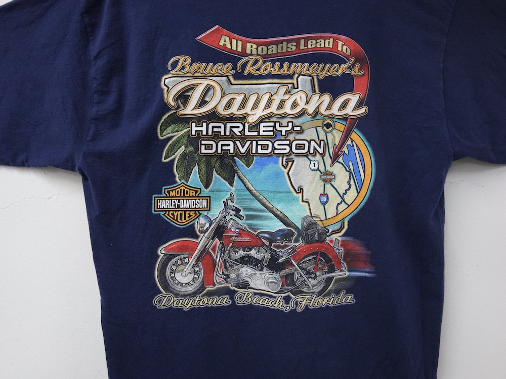 Harley-Davidson ハーレーダビッドソン Tシャツ USA製 USED