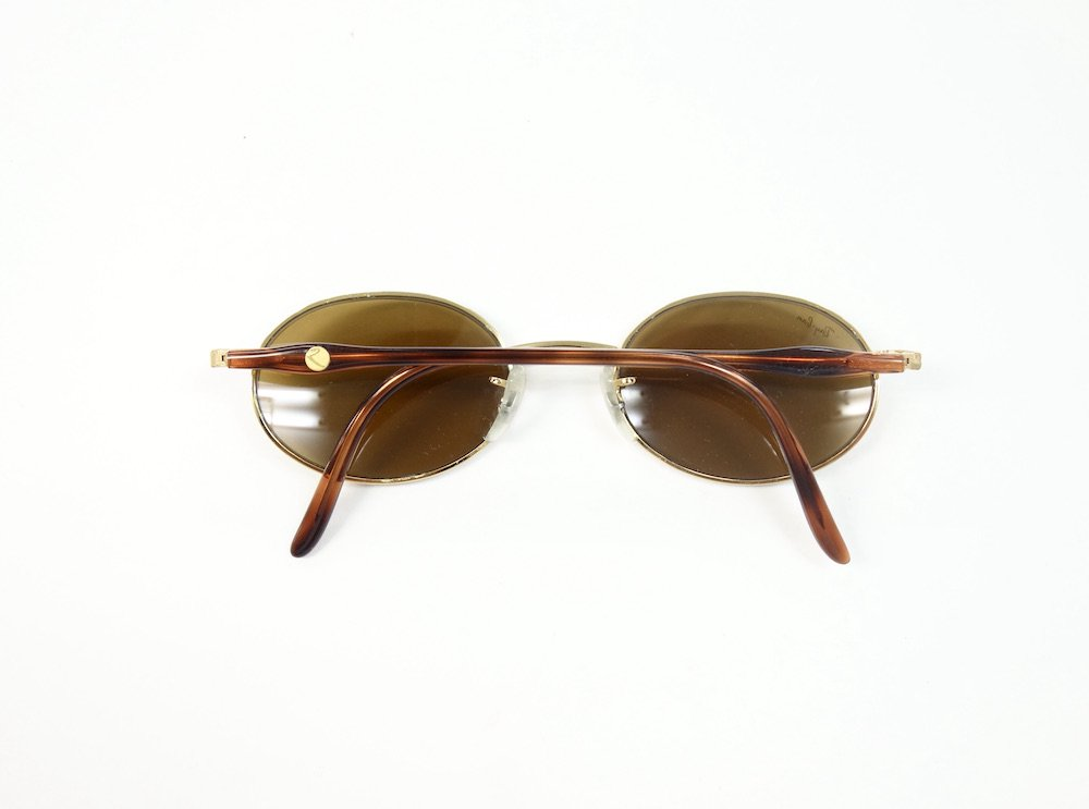 VINTAGE RAY-BAN BAUSCH&LOMB社製 ROUND METAL W2543 サングラス MADE IN USA USED