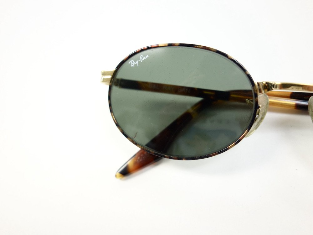 VINTAGE RAY-BAN BAUSCH&LOMB社製 ROUND METAL W2188 サングラス MADE IN USA USED
